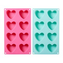RICE heart shaped silicone baking mold
