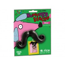Funny moustache for dogs by RICE
