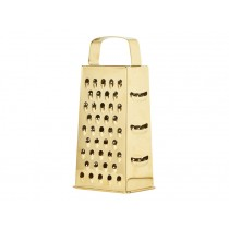 RICE Stainless Steel Triangular Grater gold