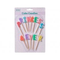 RICE cake candles Princess 4ever