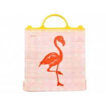 RICE Thermo Plastic Bag with Flamingo Print