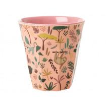 RICE Melamine Cup JUNGLE rose
