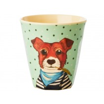 RICE Kids Melamine Cup DOG