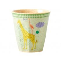 RICE kids melamine cup animal print boy