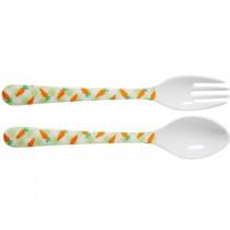 RICE kids cutlery carrots