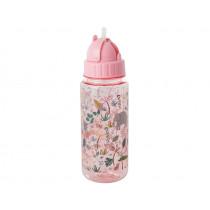 RICE kids water bottle JUNGLE PINK