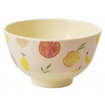 RICE Melamine Bowl HAPPY FRUITS small