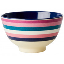 RICE Melamine Bowl STRIPES small