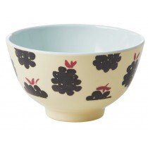 RICE Melamine Bowl BLACKBERRIES small