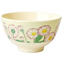 RICE Melamine Bowl DAISY small