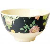 RICE Melamine Bowl DARK ROSE small