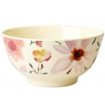 RICE Melamine Bowl SELMAS FLOWERS small