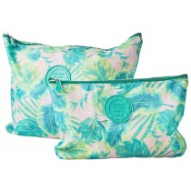 RICE Packing Pouches Set of two SELMAS LEAVES