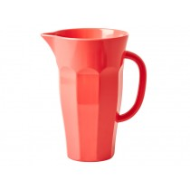Pastel coral 1,75-liter melamine pitcher by RICE