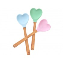RICE kitchen spatula heart