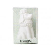 RICE poodle lamp