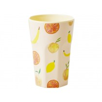 RICE Tall Melamine Cup HAPPY FRUITS