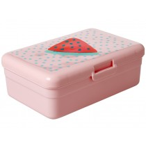 RICE kids lunchbox fruit print PINK