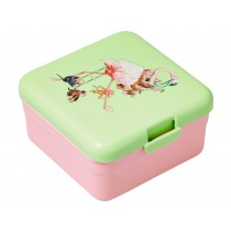 Small RICE kids lunch box flamingo print