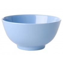 RICE Melamine Bowl LET'S SUMMER pigeon blue