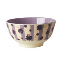 RICE Melamine Bowl BLACKBERRY