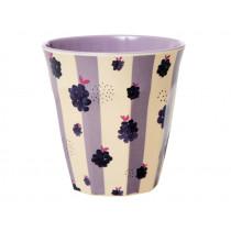 RICE Melamine Cup BLACKBERRY