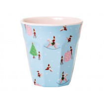 RICE Melamine Cup Christmas XMAS ELF