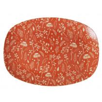 RICE small rectangular plate FALL