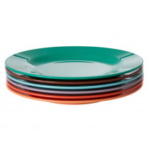 RICE 6 Melamine Side Plates FOLLOW THE CALL OF THE DISCO BALL