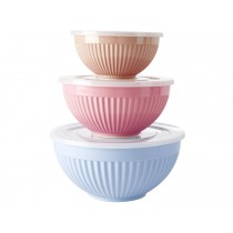 RICE Melamine Bowl Set COLOURFUL LIFE