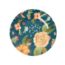 RICE Melamine Side Plate SELMA'S FALL FLOWERS