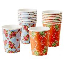 RICE paper cups vintage look