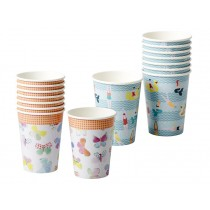 RICE Paper Cups Butterflies & Swimster