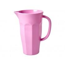 RICE melamine pitcher 1,0 l DARK PINK