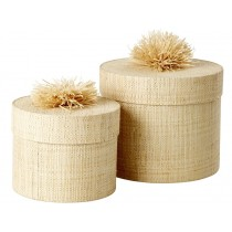 RICE Storage Box Set POM POM