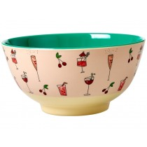 RICE Melamine Bowl COCKTAIL