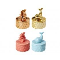RICE Jewelery box ANIMAL MOTIVES