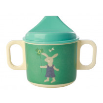 RICE Sippy Cup BUNNY green
