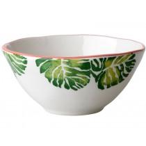 RICE Ceramic Bowl TROPIC LEAF