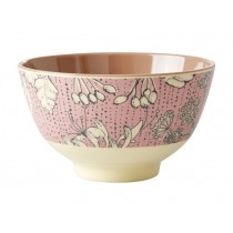 RICE Melamine Bowl WILD CHERVIL small