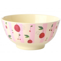 RICE Melamine Bowl CHERRIES