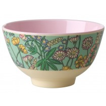 RICE Melamine Bowl with Lupins small