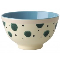 RICE Melamine Bowl with Watercolor Splash small