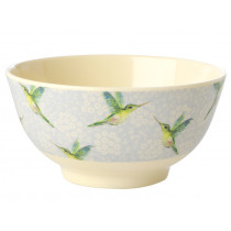 RICE Melamine Bowl HUMMINGBIRD