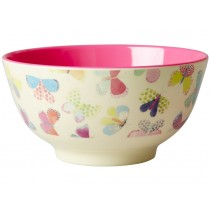 RICE melamine bowl butterflies