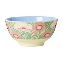 RICE Melamine Bowl Vintage Florals Print