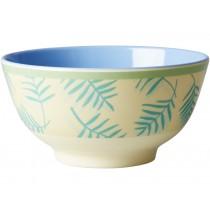 RICE melamine bowl palm leaves