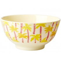 RICE Melamine Bowl PALM TREES