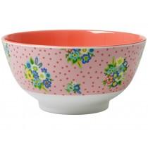 RICE melamine bowl with vintage flowers