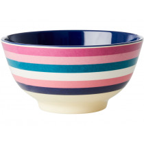 RICE Melamine Bowl STRIPES